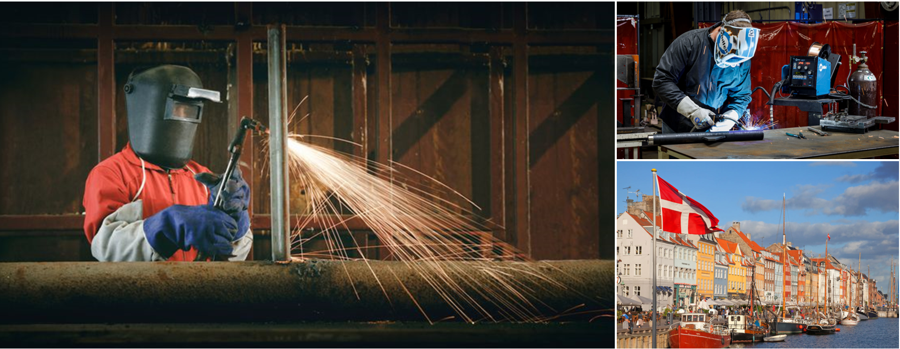 Welder jobs in Denmark
