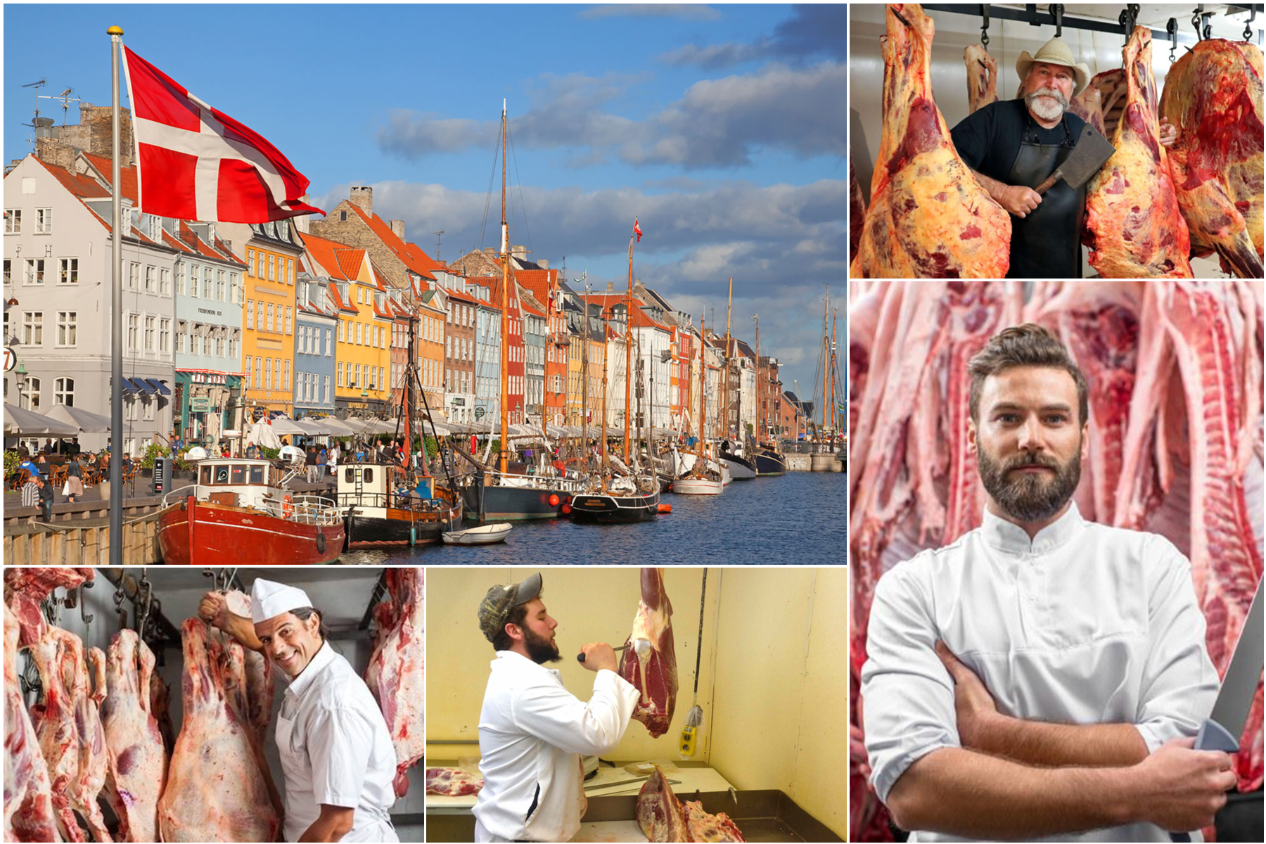 Butcher job in Denmark