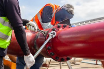 Pipe fitter in Holland